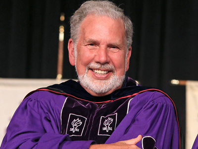 John Sexton, Professor Emeritus of New York University.